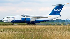 Silk Way Airlines Ilyushin Il-76 4K-AZ100